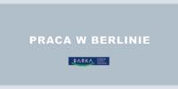 Praca dla Asystenta Socjalnego w Berlinie