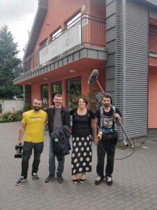 Macedońska ekipa filmowa kręci film o Barce oraz ekonomii społecznej